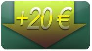 investir 20€ au poker