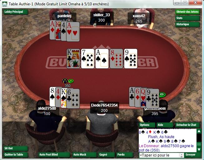 Ohama sur Everest Poker
