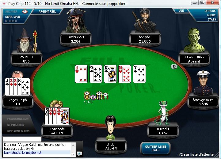 Omaha Poker Full Tilt poker