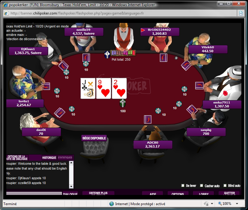 Poker Flash Chilipoker