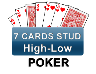 7 cards stud High-low