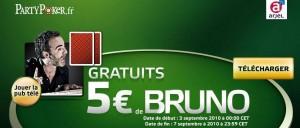 5 euro gratuits partypoker