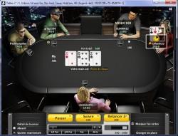 Poker gratuit ou payant : les salles de poker, tournois de la salle de poker Bwin poker table