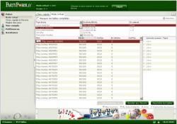 Poker gratuit ou payant : les salles de poker, tournois de la salle de poker Partypoker Poker lobby