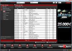 Poker gratuit ou payant : les salles de poker, tournois de la salle de poker Xtrem Poker lobby