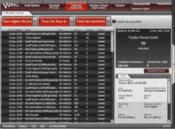 Poker gratuit ou payant : les salles de poker, tournois de la salle de poker Winga Poker salle