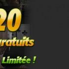 20 tickets de tournoi gratuits sur Bwin poker