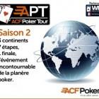 2ème saison pour ACF Poker Tour