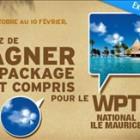 WPT Poker National Ile Maurice sur PMU Poker