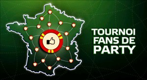 Tournoi Facebook exclusif sur Party Poker