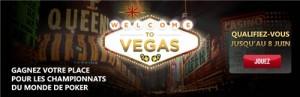 Tournois Welcome to Vegas 2014 sur Everest Poker