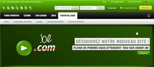 Unibet Poker en Belgique