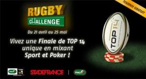 PMU Poker Rugby Challenge