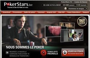 logiciel PokerStars Be